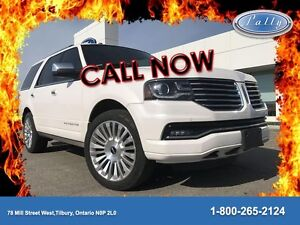 2015 Lincoln Navigator Rear DVD, Moonroof, Less then 37, 000 Km'