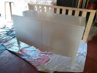 Large IKEA sideboard / cupboard white