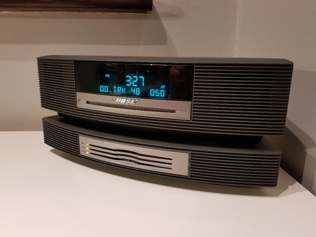 Bose Wave Music System Awrcc5 Fm Am Radio Cd Player Remote