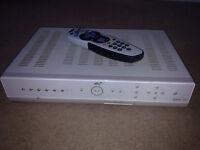 amstrad sky + box 80gb with remote