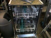 Zannusi integral dishwasher ZT455, 450mm wide,little used