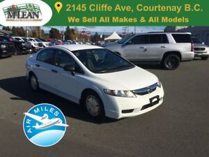 2010 Honda Civic DX-G 5-Star Safety Low Kms
