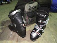 Nordica S Easy Move Ski Boots - Size UK 9