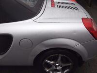 Toyota MR2 Roadster VVTI, 1.8L Petrol, 2001, Convertible, Silver, 49k Miles, FSH, 2 Owners, MOT