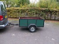 SMALL TRAILER 6 ft 6 x 3 ft 5