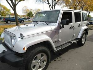 2011 Jeep WRANGLER UNLIMITED Sahara*2 TOPS*LEATHER*