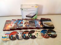 Xbox 360 HD-DVD Drive with HD-DVD's (DOES NOT PLAY BLU-RAYS!)