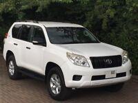2011 Toyota Landcruiser PRADO 3.0 D4d White Import Manual Diesel