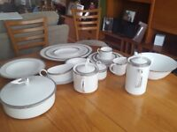 Royal Worcester Dinner Service - very good / excellent condition. 70 pieces.