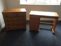 Desk and Drawers for Sale, £30.00