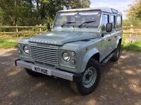 Land Rover Defender 110 Station Wagon. Heritage 7 seater