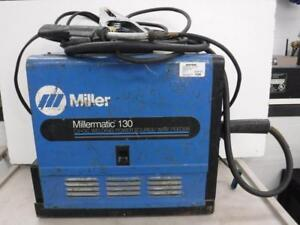 Miller Millermatic 130 Mig Welder - We Buy and Sell Pre-Owned Tools and Equipment - 116207