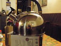 whistling kettle kettle 2.5 litre stainless steel