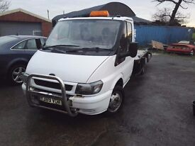 ford transit 2001 2.4 recovery truck mot august