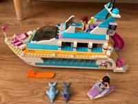 LEGO Friends 41015 - Yacht- used in good condicion-