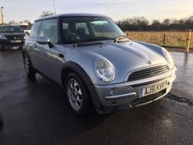 BARGAIN! Mini one, long MOT, ready to go