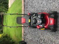 MTB Optima 46 SPB HW Self Propelled Petrol Lawn Mower RRP £419 - Used once.
