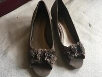 Lilley& skinner ladies weddge sandals size 8 used £3