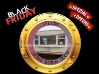 BLACK FRIDAY OFFERS: FIELDS: LYONS ROBIN HOOD, RHYL, N.WALES: SLEEPS 7 MAX, NO PETS