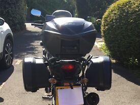 Honda CB500 X or F series Pannier set and Top Box inc frames & rack
