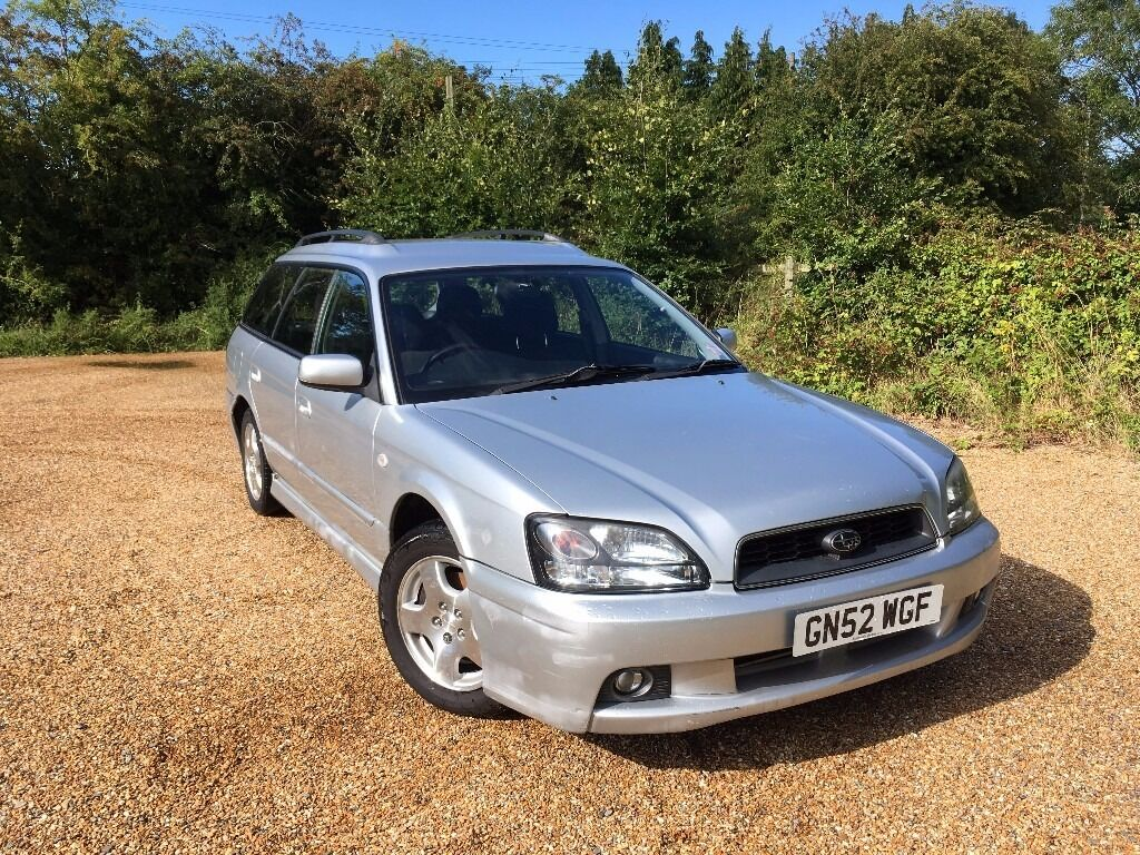 2002 subaru legacy 2 0 gl sport awd estate silver fantastic work horse bargain in. Black Bedroom Furniture Sets. Home Design Ideas