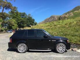 "Genuine kahn cosworth 22"" Range Rover Sport alloy wheels"