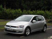 2015 VOLKSWAGEN GOLF (MK7) MATCH 2.0 TDI DSG BLUEMOTION *1 OWNER - FULL VW DEALER HISTORY - £20 TAX*