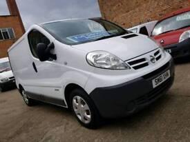 2012 61 Nissan Primastar 2.0 DCI 115 - SWB Van - FSH - 3 Months Warranty - No Vat