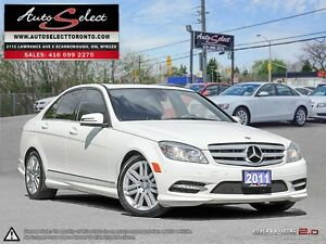 2011 Mercedes-Benz C-Class 4Matic C250 AWD ONLY 189K! **CLEAN...