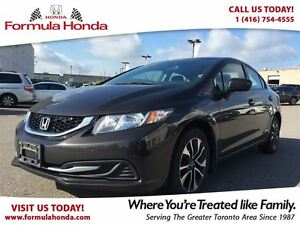 2014 Honda Civic Sedan EX | REAR-VIEW CAMERA | HEATED SEATS