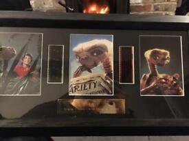 E.T. ORIGINAL CUTTINGS FROM THE FIRST EVER E.T MOVIE