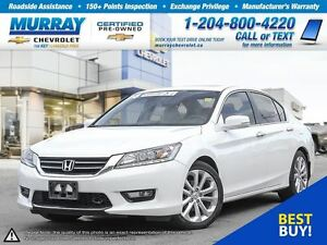 2014 Honda Accord Sedan 4dr I4 CVT Touring *Bluetooth, Leather S