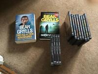 Best Grylls books and DVD's