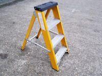 Fibre Glass Steps 4 Tread step ladder