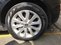 Land Rover Range Rover Vogue alloy wheel bargain white TPM