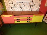 shop retail display vintage gplan cupboard side board collection n16 8jn seller refurb colourful