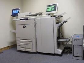 Xerox Docucolor 252 Production Printer with Professional Finisher and External Fiery