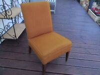 Vintage nursing or bedroom chair.