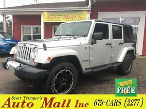 2012 Jeep WRANGLER UNLIMITED Sahara/Altitude Package