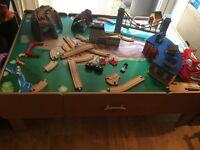 Imagination train table