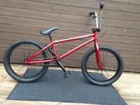 20.5 frame bmx bike ruption hacker bmx bike 2018 colour used twice brought for £180 selling for 100
