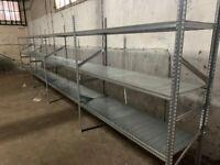 job lot supershelf industrial longspan shelving , ( storage , pallet racking )