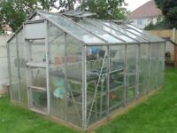 8ft by 12ft greenhouse