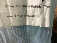 Bubble foil insulation