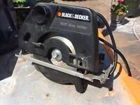 Black and decker 40mm circular saw