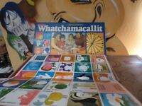 vintage old collectible board game Whatchamacallit