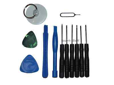 12 In1 Repair Opening Pry Tools Screwdriver Kit Set for Cell Phone Replacement