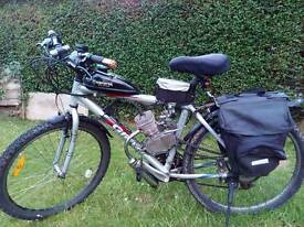 80cc petrol giant peddal bike
