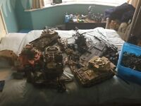 Huge collection of armed forces and army toys!