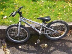 Boys Grey Apollo Bike - 20 inch wheels - age 5-8
